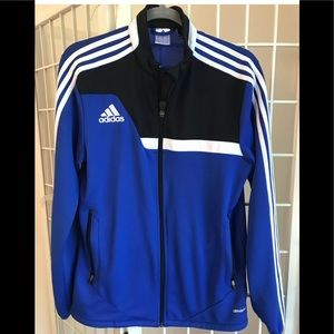 Adidas Mens Athletic Jacket Climacool Size S